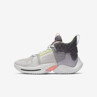 "Nike Big Kids' Basketball Shoe Jordan ""Why Not?"" Zer0.2"