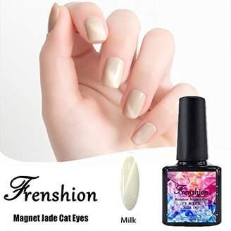 Cat Eye Frenshion Magnetic Jade Gel Polish 3D Gel Nail Polish Soak Off UV LED 10ml