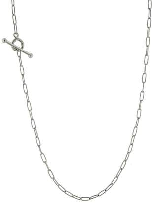Cathy Waterman 20 Inch Fine Spanish Chain Necklace - Platinum