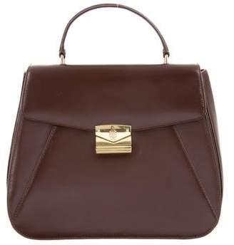 Mark Cross Leather Handle Bag