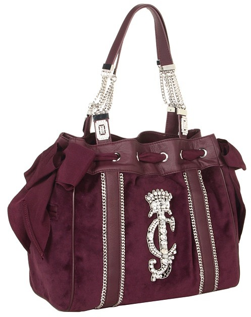 Juicy Couture Daydreamer Chain Chain Chain (Plum Perfect) - Bags and Luggage