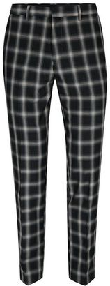 Charcoal Check Smart Skinny Pants $70 thestylecure.com