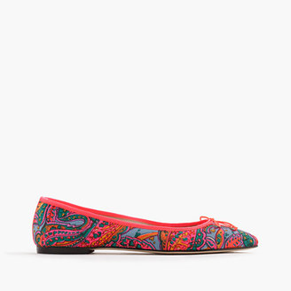 Gemma flats in paisley $118 thestylecure.com