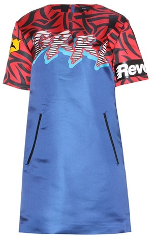 Marc By Marc JacobsMarc by Marc Jacobs Motocross printed dress