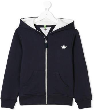Macchia J Kids zip-up hoodie