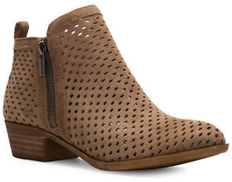 Lucky Brand Basel3 Nubuck Cut-Out Ankle Boots