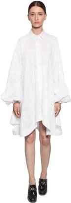 J.W.Anderson Button Down Cotton Shirt Dress