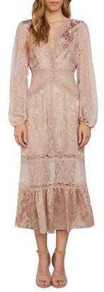 Willow & Clay Lace Midi Dress