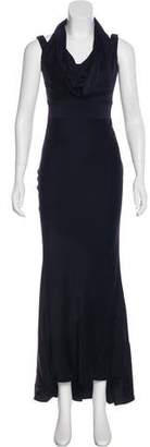 Alexander McQueen Sleeveless Evening Dress
