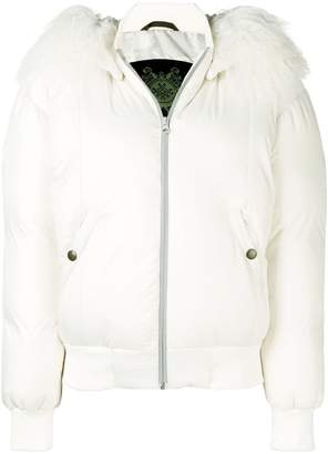 Mr & Mrs Italy trimmed padded jacket