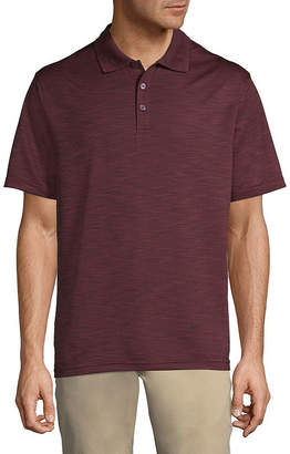 Haggar Short Sleeve Knit Polo Shirt Big and Tall