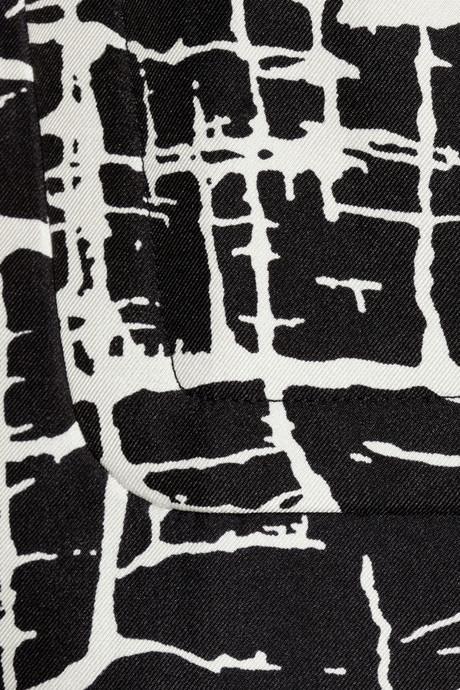 Marni Printed satin top