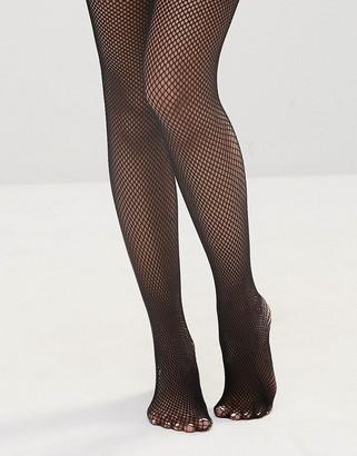 Leg Avenue Vinyl Top Fishnet Thigh High Stockings