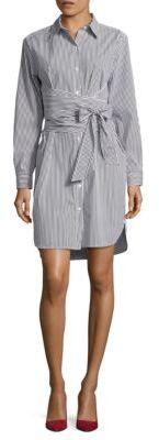 DKNY Striped Shirt Dress $199 thestylecure.com