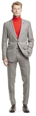 Todd Snyder Black Label Made in USA Wool Houndstooth Suit Jacket