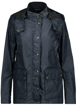 Belstaff New Tourmaster 2.0 Coated Cotton-Canvas Hooded Jacket