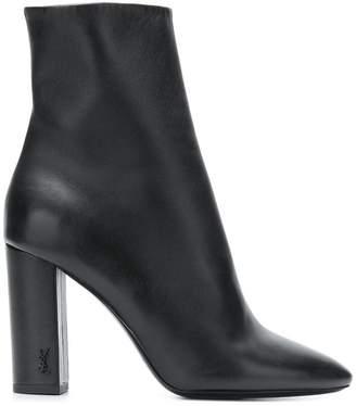 Saint Laurent Lou 95 ankle boots