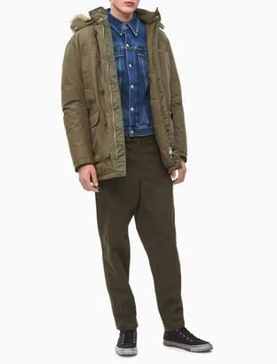 Calvin Klein Hooded Down Parka Coat
