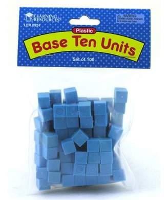 Learning Resources Plastic Base Ten 100 Units
