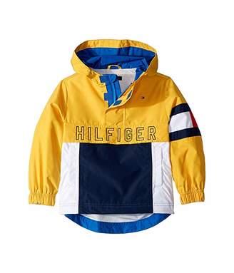 Tommy Hilfiger Adaptive Signature Popover Jacket (Little Kids/Big Kids)