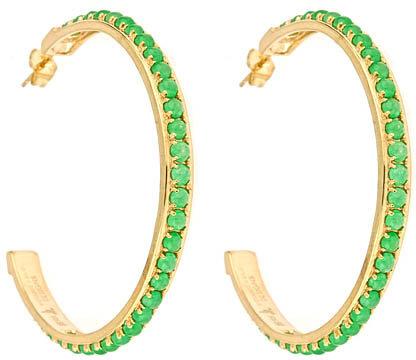 Melanie Auld Designs Hera Jade Hoops
