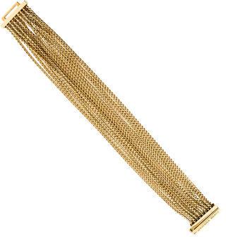 David Yurman 18K Multi-Row Box Chain Bracelet $4,595 thestylecure.com