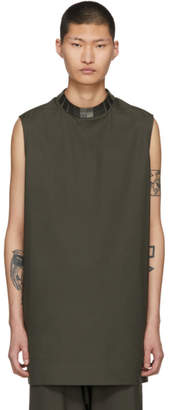 Rick Owens Grey Moody Tunic T-Shirt