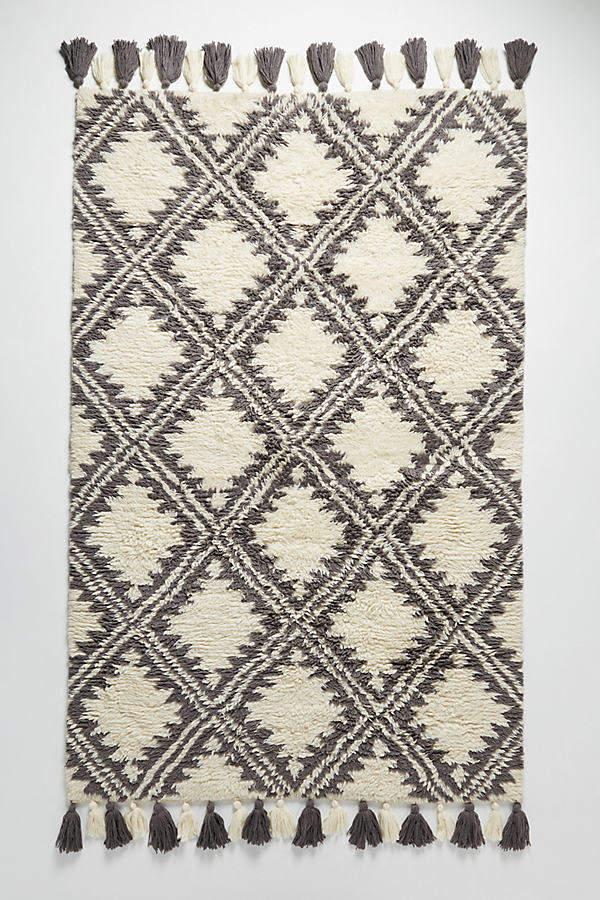 Essa Getufteter Teppich – Stoffmuster - Neutral Motif