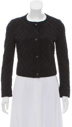 Chanel Quilted Cropped Jacket w/ Tags