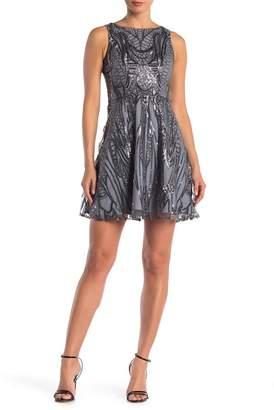Lumier Sasha A-Line Sequin Dress