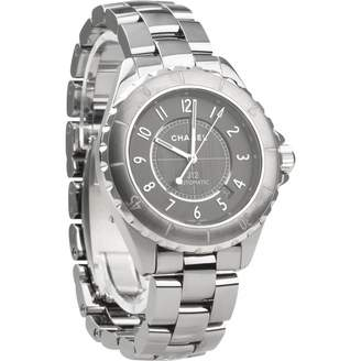 Chanel J12 Automatique Grey Ceramic Watches