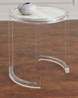 Bernhardt Astra Acrylic Side Table