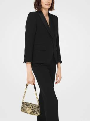 Michael Kors Amalfi Mini Floral Brocade Shoulder Bag