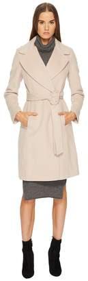 Diane von Furstenberg Amelie Core Wool Tie Waist Jacket
