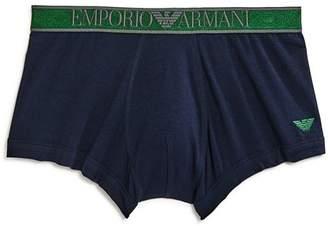 Emporio Armani Logo Waistband Trunks