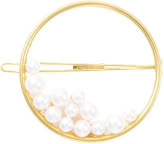 Swarovski LELET NY 'Ocean' pearl ring hair barrette
