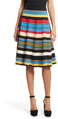 Women's Tracy Reese Stripe A-Line Skirt $248 thestylecure.com