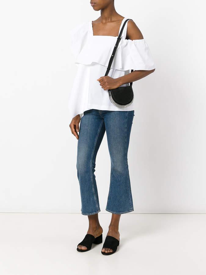 Paco Rabanne embellished loops shoulder bag
