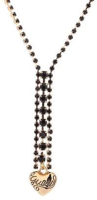 GUESS Ubn81026 Steel Cubic Zirconia Necklace With Pendant