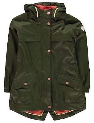 Regatta Kids Girls Trifonia Waterproof Jacket Junior Coat Top Long Sleeve