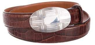Polo Ralph Lauren Embossed Waist Belt