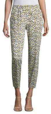Escada Talaranto Lemon-Print Pants