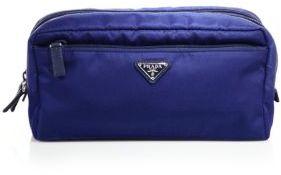 pradaPrada Nylon Double-Zip Cosmetic Case