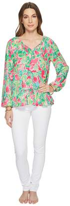 Lilly Pulitzer Tensley Top Women's Long Sleeve Pullover