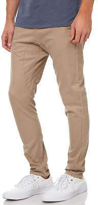 Zanerobe New Men's Salerno Mens Chino Pant Cotton Elastane Natural