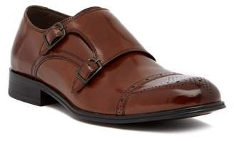 Kenneth Cole New York Cap Toe Monk Strap Loafer
