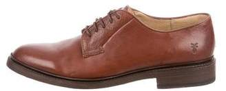 Frye Round-Toe Lace-Tie Derby Shoes