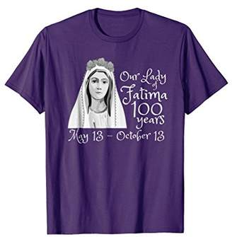 Our Lady of Fatima 100 Year Anniversary T-Shirt Catholic Tee