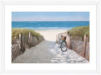 McGaw Graphics A Ride to the Beach by Zhen-Huan Lu (Framed)
