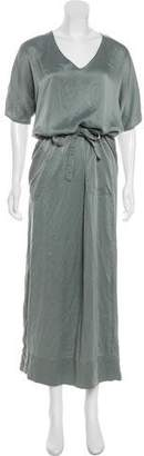 Boy By Band Of Outsiders Silk Maxi Dress